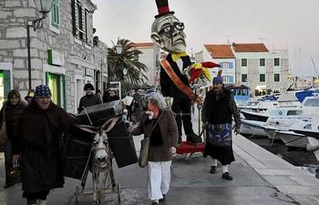 vodice Carnival masking